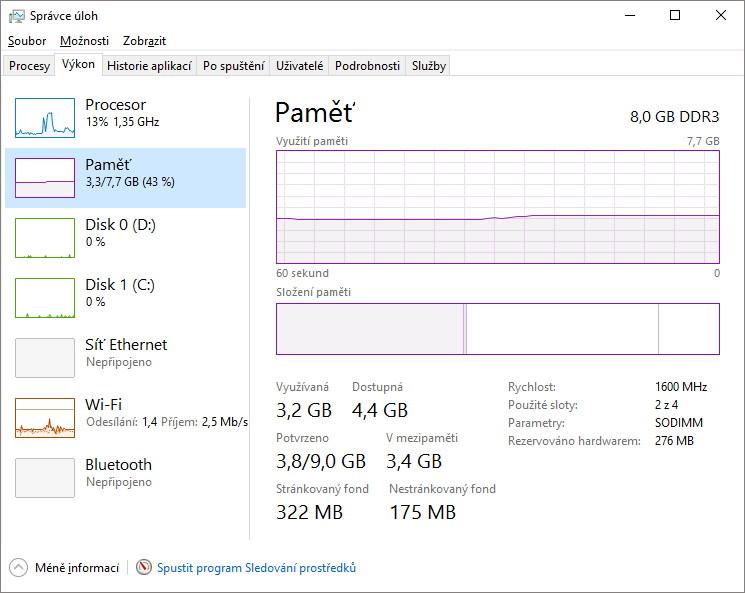 Jak zrychlit Windows vypnutím virtuální paměti