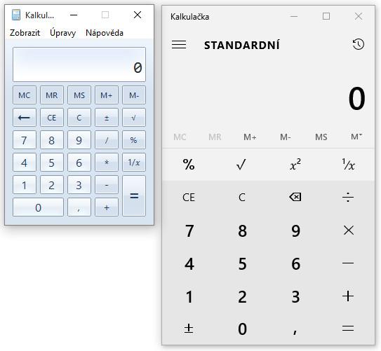 Jak vrátit starou kalkulačku do Windows 10