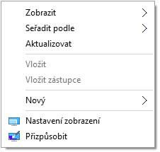 Jak přidat ikonu Tento počítač na plochu