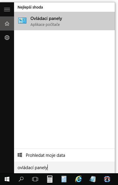 Jak otevřít Ovládací panely ve Windows 10