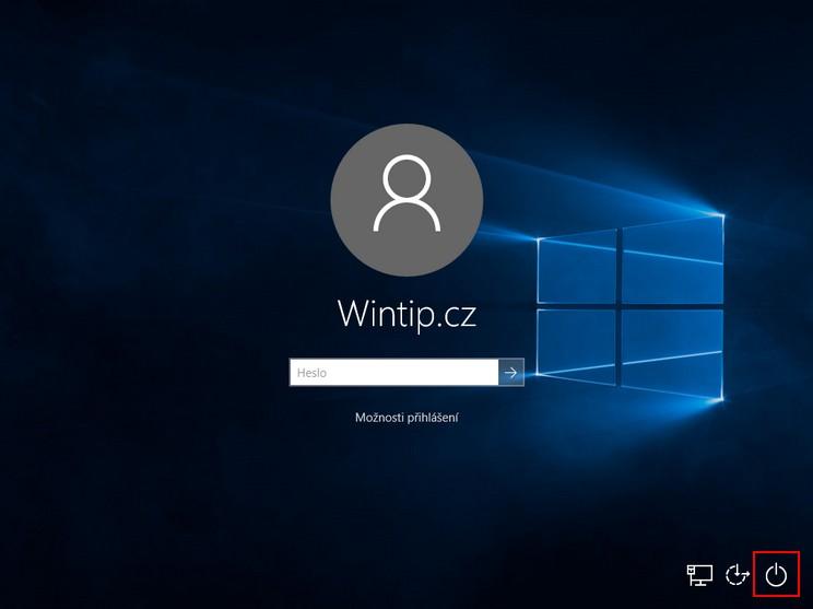 Jak zakázat vypnutí počítače ze zamknutých nebo odhlášených Windows