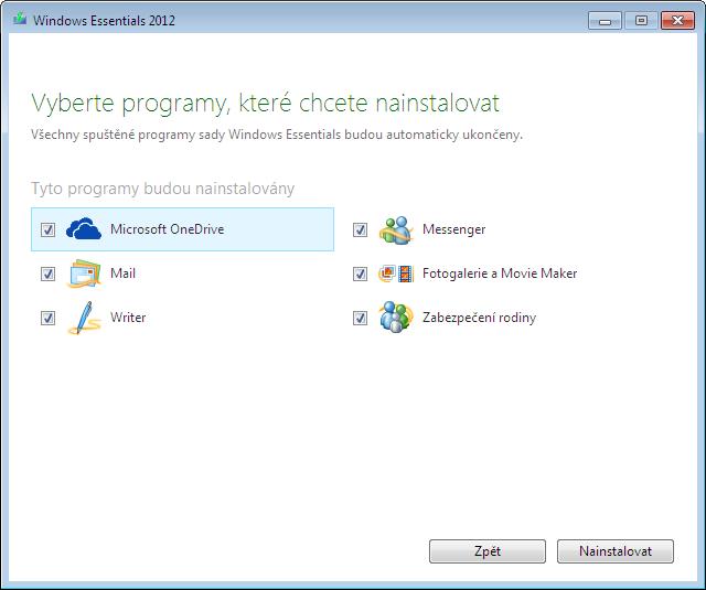 Microsoft Windows Essentials 2012