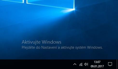 Jak aktivovat Windows 10