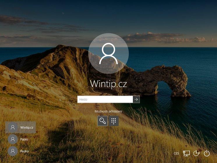 Jak změnit heslo ve Windows 10